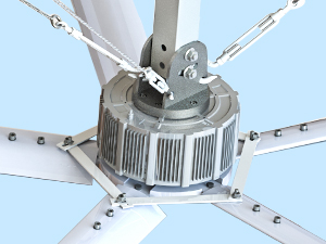 China direct drive fans
