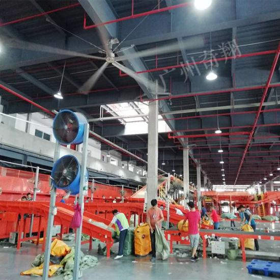 Large Energy Saving Industrial Ceiling Fans