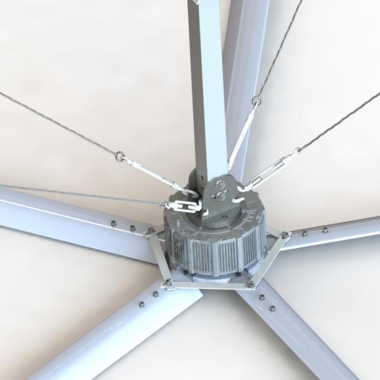 High Quality Gyms HVLS Fans